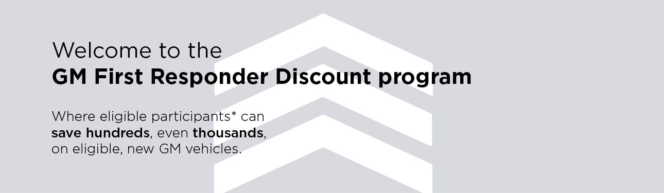 New Car Discounts | First Responder Discount